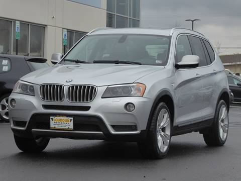 2011 BMW X3 for sale at Loudoun Motor Cars in Chantilly VA