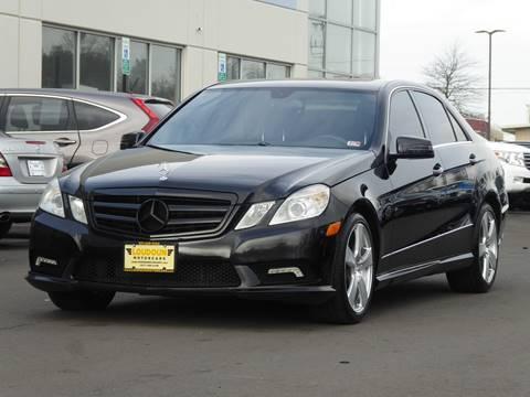 2011 Mercedes-Benz E-Class for sale at Loudoun Motor Cars in Chantilly VA