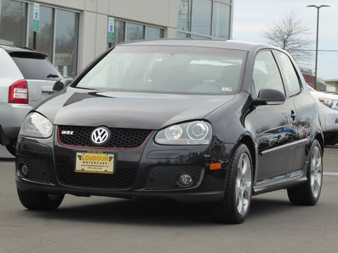 2009 Volkswagen GTI for sale at Loudoun Motor Cars in Chantilly VA