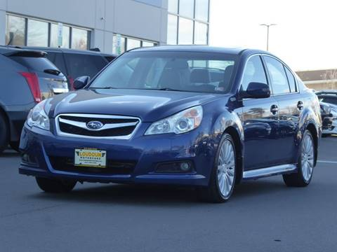 2010 Subaru Legacy for sale at Loudoun Motor Cars in Chantilly VA