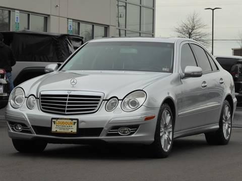 2007 Mercedes-Benz E-Class for sale at Loudoun Motor Cars in Chantilly VA