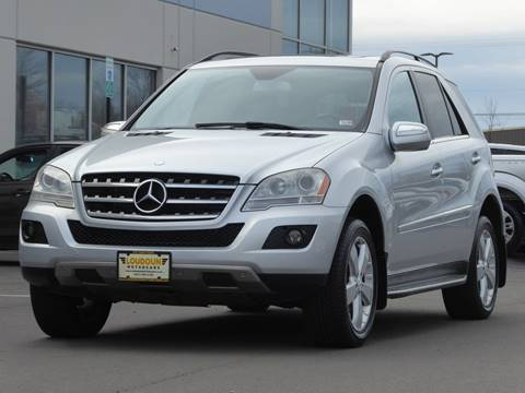 2010 Mercedes-Benz M-Class for sale at Loudoun Motor Cars in Chantilly VA
