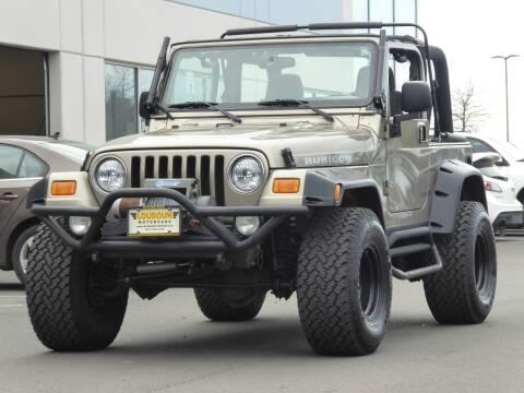 2003 Jeep Wrangler for sale at Loudoun Motor Cars in Chantilly VA