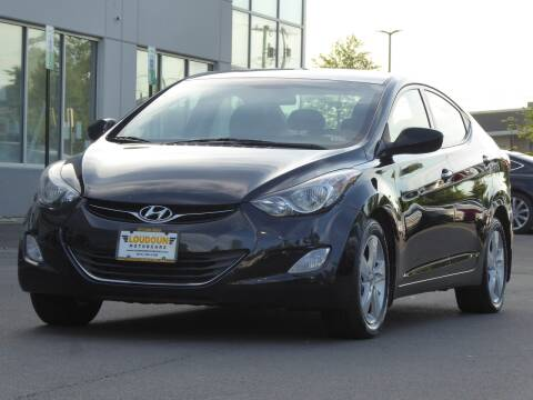 2013 Hyundai Elantra for sale at Loudoun Motor Cars in Chantilly VA