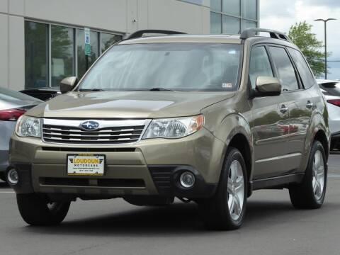 2009 Subaru Forester for sale at Loudoun Motor Cars in Chantilly VA