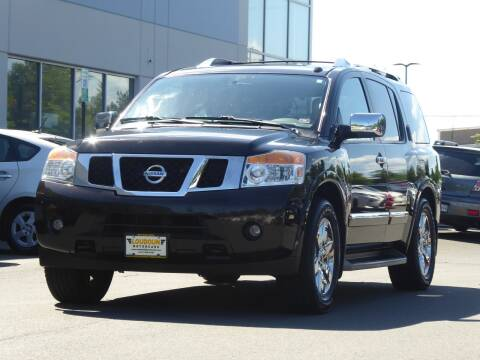 2012 Nissan Armada for sale at Loudoun Motor Cars in Chantilly VA