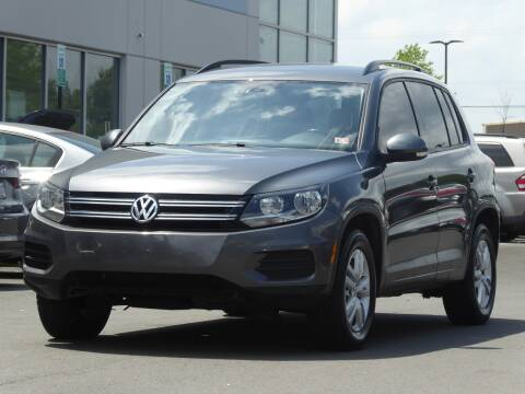 2016 Volkswagen Tiguan for sale at Loudoun Motor Cars in Chantilly VA