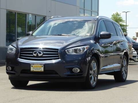 2013 Infiniti JX35 for sale at Loudoun Motor Cars in Chantilly VA