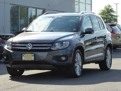 2013 Volkswagen Tiguan for sale at Loudoun Motor Cars in Chantilly VA