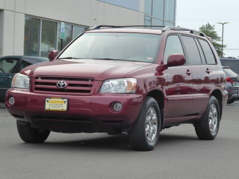 2007 Toyota Highlander for sale at Loudoun Motor Cars in Chantilly VA