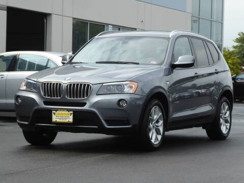 2013 BMW X3 for sale at Loudoun Motor Cars in Chantilly VA
