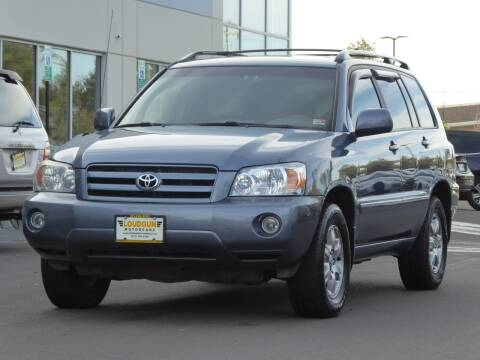 2005 Toyota Highlander for sale at Loudoun Motor Cars in Chantilly VA