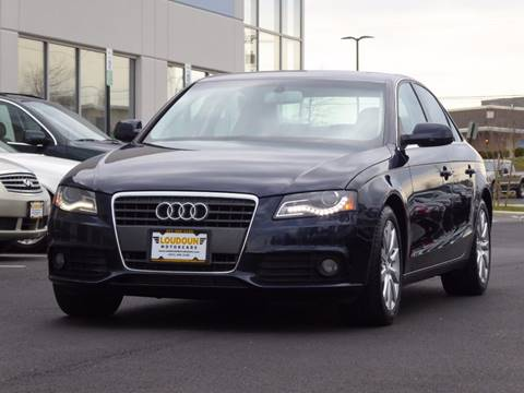 2010 Audi A4 for sale at Loudoun Motor Cars in Chantilly VA