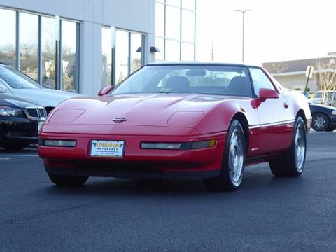 1995 Chevrolet Corvette for sale at Loudoun Motor Cars in Chantilly VA