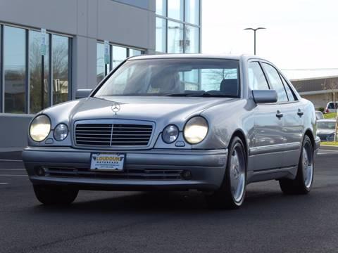 1999 Mercedes-Benz E-Class for sale at Loudoun Motor Cars in Chantilly VA