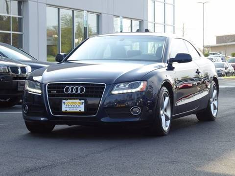 2010 Audi A5 for sale at Loudoun Motor Cars in Chantilly VA
