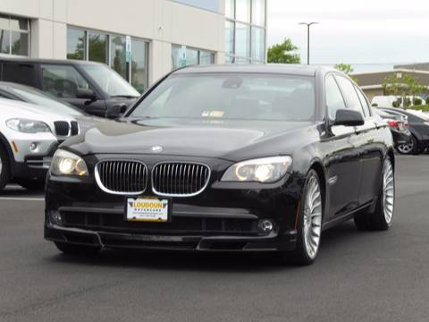 2012 BMW 7 Series for sale at Loudoun Motor Cars in Chantilly VA