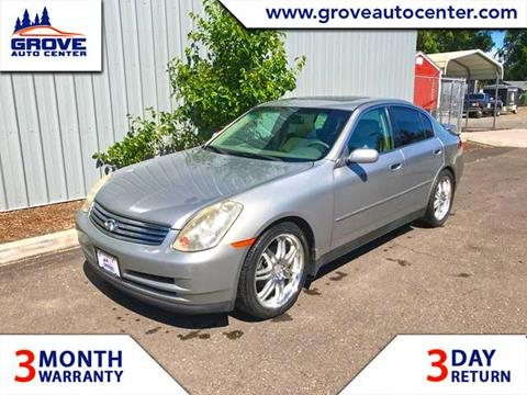 2004 Infiniti G35 for sale in Forest Grove, OR