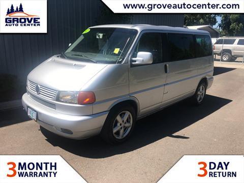 2002 Volkswagen EuroVan for sale in Forest Grove, OR