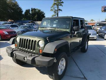 2008 Jeep Wrangler Unlimited for sale in Houston, TX