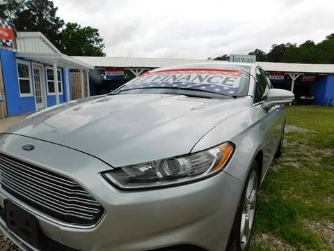2013 Ford Fusion for sale at Jetway Motors in Porter TX