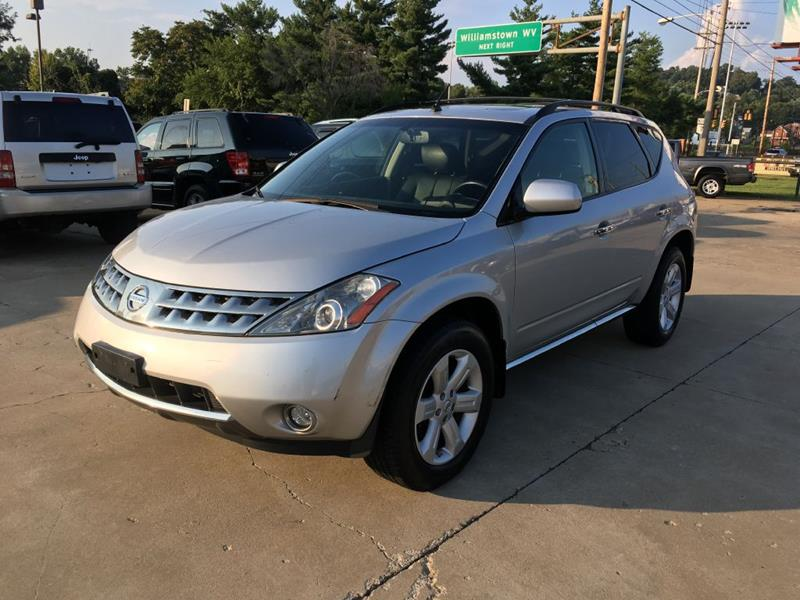2007 Nissan Murano For Sale At Wolfe Brothers Auto In Marietta OH