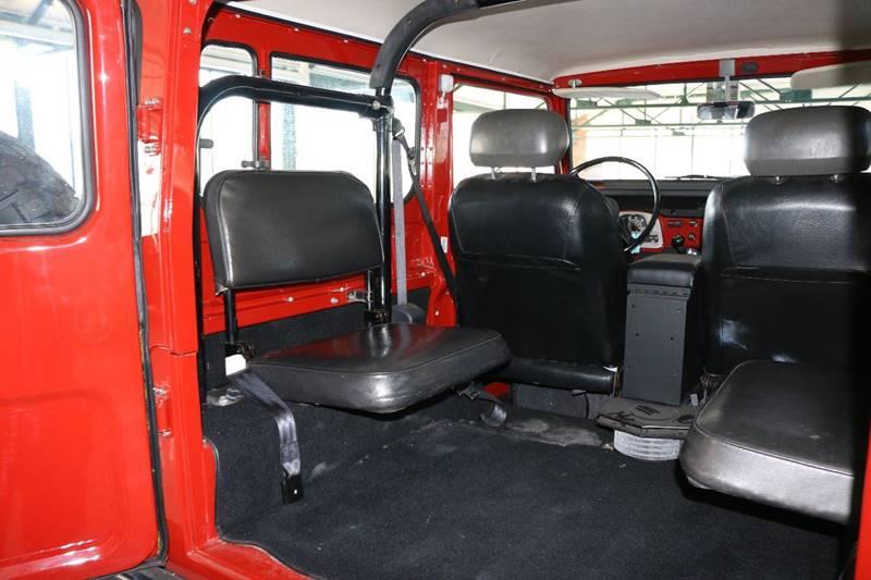 1978 Toyota Land Cruiser for sale at Redline Restorations in Bridgeport CT