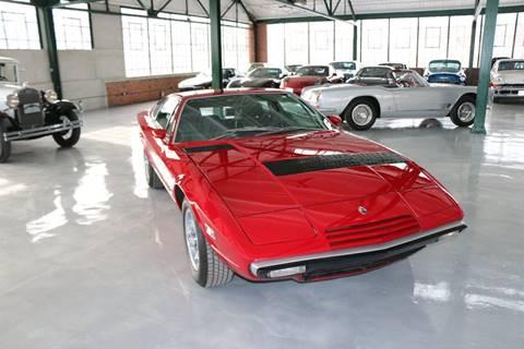 1977 Maserati Khamsin for sale at Redline Restorations in Bridgeport CT