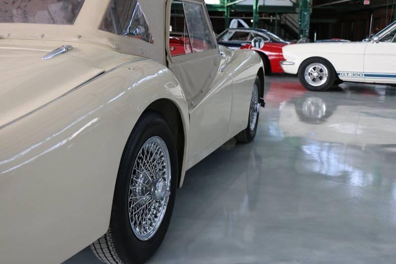 1957 Triumph TR3 for sale at Redline Restorations in Bridgeport CT
