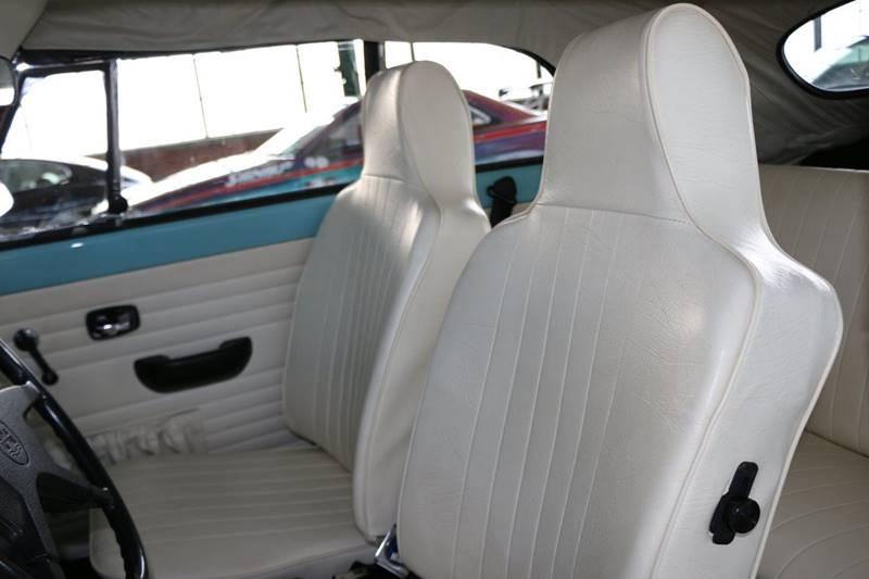 1972 Volkswagen Beetle Convertible for sale at Redline Restorations in Bridgeport CT