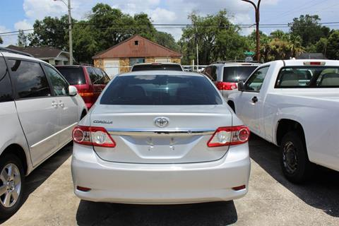 2013 Toyota Corolla for sale in Tampa FL