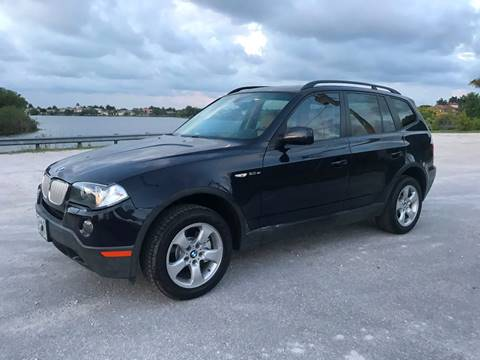2007 BMW X3 for sale at EUROPEAN AUTO ALLIANCE LLC in Coral Springs FL