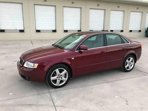 2004 Audi A4 for sale at EUROPEAN AUTO ALLIANCE LLC in Coral Springs FL