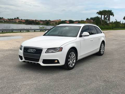 2009 Audi A4 for sale in Coral Springs, FL