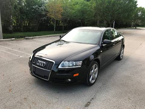 2008 Audi A6 for sale at EUROPEAN AUTO ALLIANCE LLC in Coral Springs FL