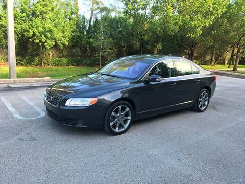 2009 Volvo S80 for sale at EUROPEAN AUTO ALLIANCE LLC in Coral Springs FL