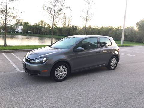 2012 Volkswagen Golf for sale at EUROPEAN AUTO ALLIANCE LLC in Coral Springs FL