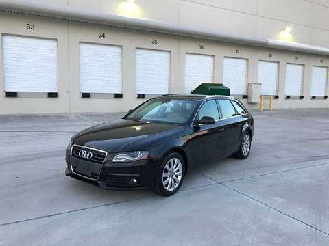 2010 Audi A4 for sale at EUROPEAN AUTO ALLIANCE LLC in Coral Springs FL