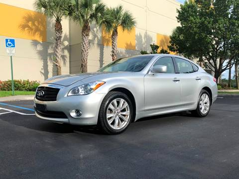 2011 Infiniti M37 for sale at EUROPEAN AUTO ALLIANCE LLC in Coral Springs FL