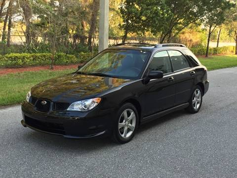 2007 Subaru Impreza for sale at EUROPEAN AUTO ALLIANCE LLC in Coral Springs FL