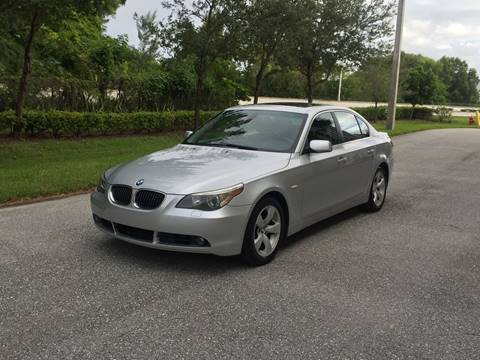 2006 BMW 5 Series for sale at EUROPEAN AUTO ALLIANCE LLC in Coral Springs FL