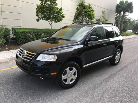 2005 Volkswagen Touareg for sale at EUROPEAN AUTO ALLIANCE LLC in Coral Springs FL
