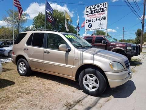 2001 Mercedes-Benz M-Class for sale in San Antonio, TX