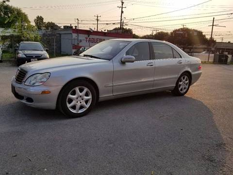 2003 Mercedes-Benz S-Class for sale at PHARAOH AUTO SALES in San Antonio TX