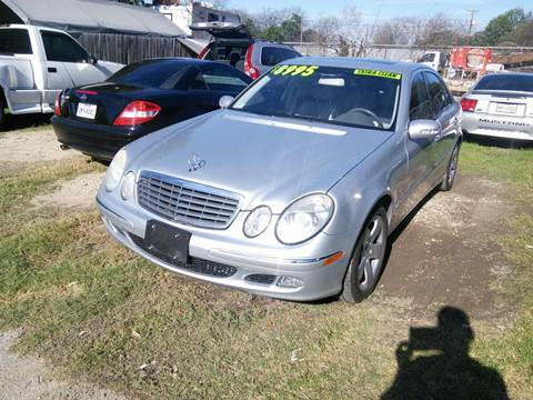 2006 Mercedes-Benz E-Class for sale at PHARAOH AUTO SALES in San Antonio TX