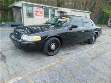 2009 Ford Crown Victoria for sale in Atlanta, GA