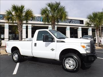 2011 Ford F-250 Super Duty for sale in Jacksonville, FL