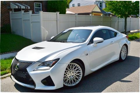 2015 Lexus RC F for sale in Bellerose, NY