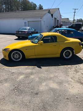 2001 Honda S2000 for sale at BRIAN ALLENS TRUCK OUTFITTERS in Midlothian VA
