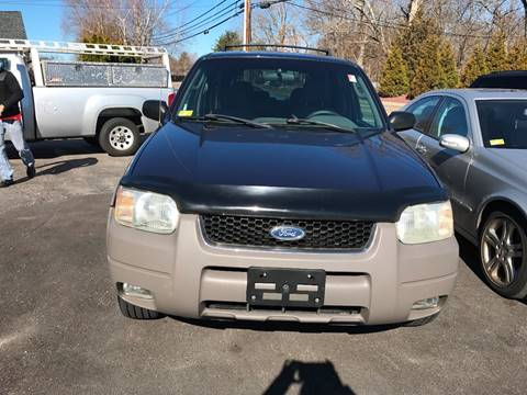 2002 Ford Escape for sale in Oakdale, CT
